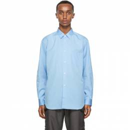 Comme Des Garcons Shirt Blue Classic Forever Shirt FO01B201