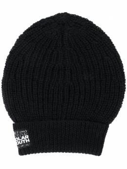 Raf Simons шапка бини в рубчик 202852