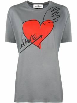 Vivienne Westwood Anglomania футболка с принтом 3701003921719