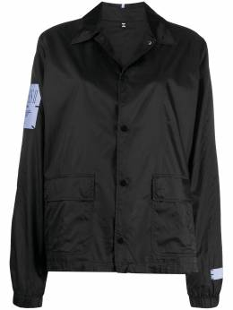 MCQ by Alexander McQueen спортивная куртка с надписью 623846RPF17