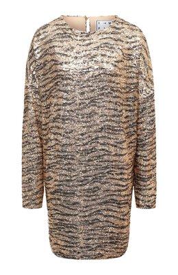 Платье с пайетками In The Mood For Love ALEXANDRA ZEBRA DRESS