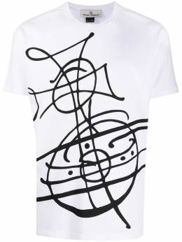 Vivienne Westwood Anglomania graphic-print cotton T-shirt 3701003821719M