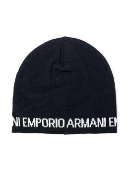 Emporio Armani Kids шапка бини с логотипом 404613TEEN0A465