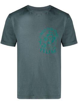 Telfar футболка с принтом Not For You FW20ST09