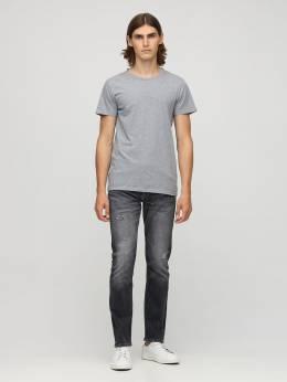 Джинсы Из Хлопкового Деним 17см Calvin Klein Jeans 72IJSG029-MUJZ0
