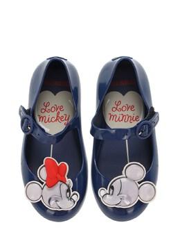 "Резиновые Балетки ""minnie & Mickey Mouse"" Mini Melissa 72I91Z009-MDEzODA1"