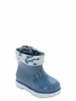 Scented Camouflage Print Rubber Boots Mini Melissa 72I91Z001-NTA1Mjg1