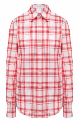 Хлопковая рубашка Gabriela Hearst 420100 T033