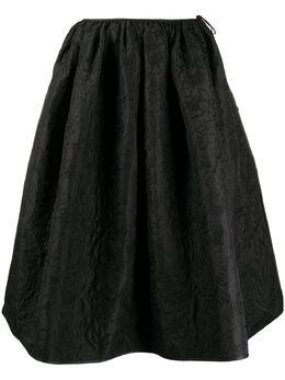 Cecilie Bahnsen стеганая юбка миди Mala PF200068MALA