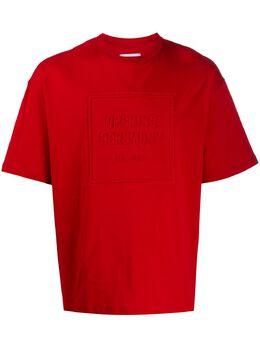 Opening Ceremony футболка с тисненым логотипом YMAA001F20JER0012525