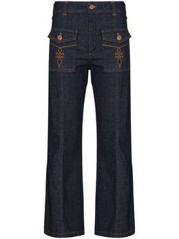 See By Chloe расклешенные джинсы CHS20ADP04161