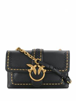 Pinko Love Birds-buckle crossbody bag 1P21SQY65ZZ99