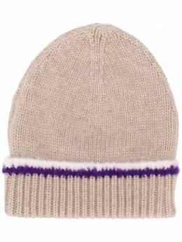 Barrie шапка бини с контрастной отделкой C145813