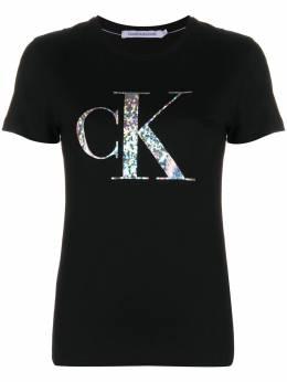 Calvin Klein Jeans футболка с логотипом J20J214231BAE