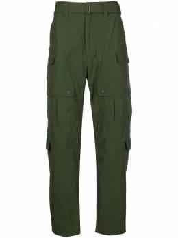 White Mountaineering брюки свободного кроя с карманами WM1973414