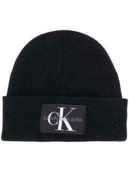 Calvin Klein Jeans шапка бини с нашивкой-логотипом K50K506246