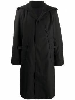 Y-3 oversized parka coat GK4584