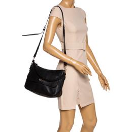 Kate Spade Black Leather Flap Shoulder Bag 326260
