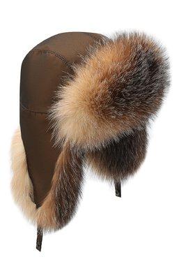 Меховая шапка-ушанка Kussenkovv 90905603153