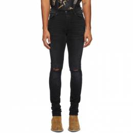 Amiri Black Shotgun Jeans W0M01524SD
