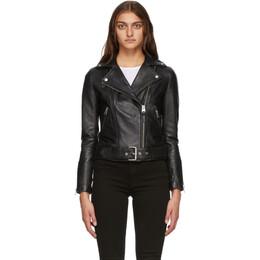 Mackage Black Kylie Leather Jacket
