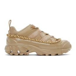 Burberry Beige Arthur Story Sneakers 8032377