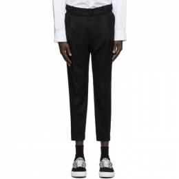 Wooyoungmi Black Wool Trousers PT11