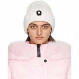 Mackage Off-White Knit Wool Jude Beanie