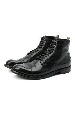 Кожаные ботинки Officine Creative ANAT0MIA/16/BUFAL0 V