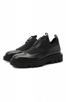Комбинированные ботинки Combat Givenchy BH1029H0NN