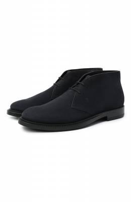 Замшевые ботинки Tod's XXM62C0DH60RE0