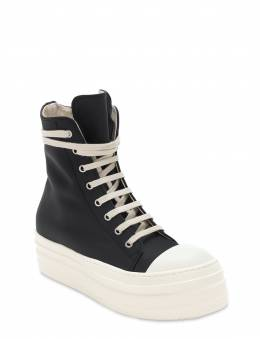 40mm Double Bumper High Top Sneakers Rick Owens 72IXKT002-OTE1