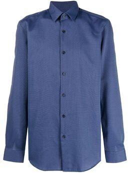 Boss by Hugo Boss однотонная рубашка 50439704