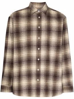 Raf Simons фланелевая рубашка в клетку 202284B
