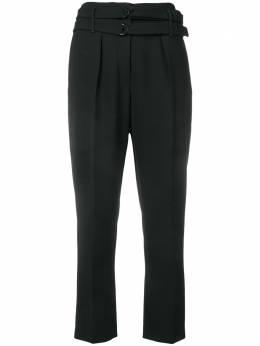 Luisa Cerano укороченные брюки с двойным поясом 6980012056