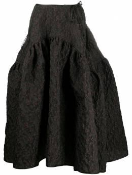 Cecilie Bahnsen юбка Lilly с цветочной вышивкой AW200019LILLY