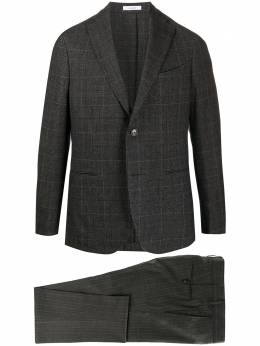 Boglioli клетчатый костюм с однобортным пиджаком N1182EBSC130