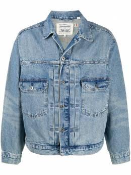 Levi's укороченная джинсовая куртка 212610006