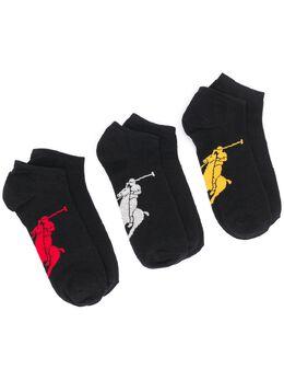 Polo Ralph Lauren pony motif ankle socks 449655205003
