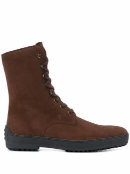 Tod's ботинки на шнуровке XXM0HW00500HSES804