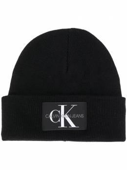 Calvin Klein Jeans шапка бини с нашивкой-логотипом K60K607384