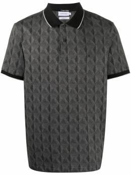 Calvin Klein рубашка поло с геометричным принтом K10K105662BEH