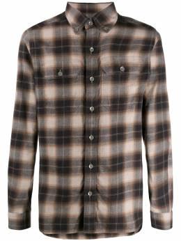 Tom Ford клетчатая рубашка кроя слим 94UDAN6FT556