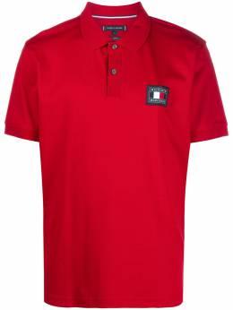 Tommy Hilfiger рубашка поло с нашивкой-логотипом MW0MW15217XMP
