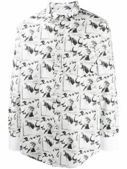Lanvin рубашка с принтом RMSI03994691H20