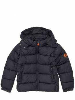 Hooded Nylon Down Jacket Save The Duck 72ILXX013-MDAwMDE1