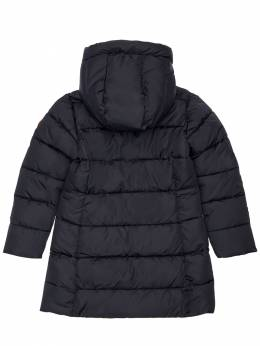 Hooded Nylon Down Jacket Save The Duck 72ILXX003-MDAwMDE1