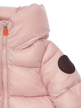 Hooded Nylon Down Jacket Save The Duck 72ILXX001-MDA5OTY1