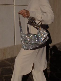 La Monique La Grande Crystal Mesh Bag Benedetta Bruzziches 72I0F9012-Q1JZU1RBTA2