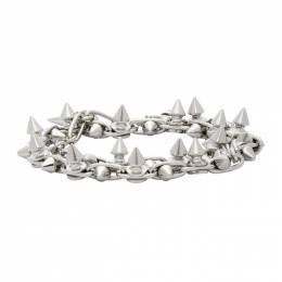 Junya Watanabe Silver Stud Wrap Bracelet JF-K805-051